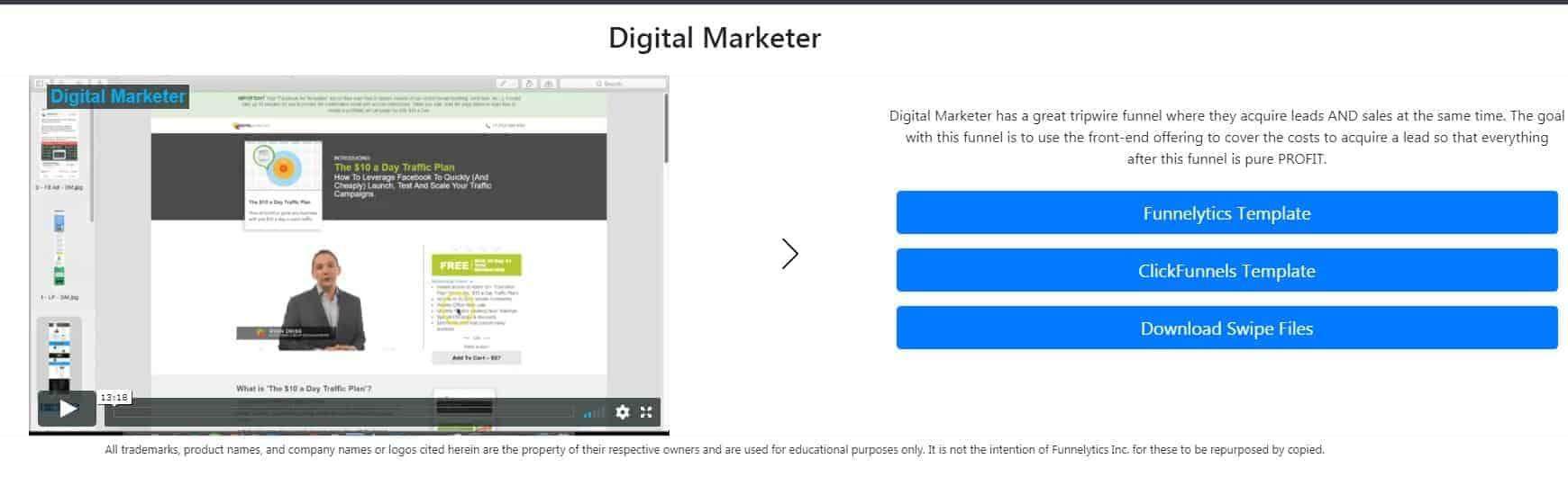 Digital Marketer Sales Funnel Hack