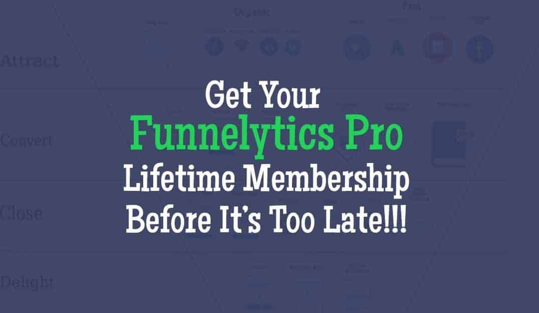 The Funnelytics PRO Lifetime Membership Deal!