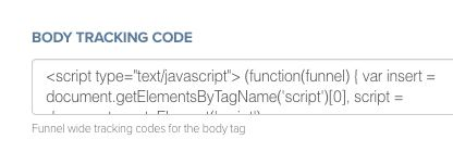 ClickFunnels Add Funnelytics Code