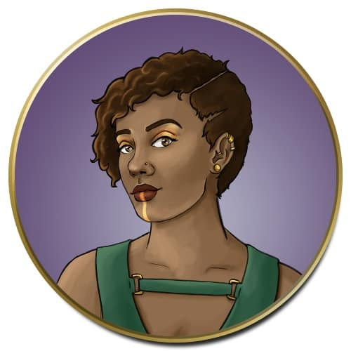 Dungeons and Dragons Character Icon Art