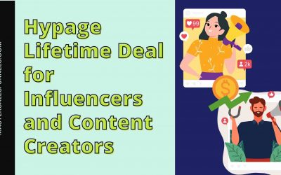 Hypage Lifetime Deal for Influencers and Content Creators