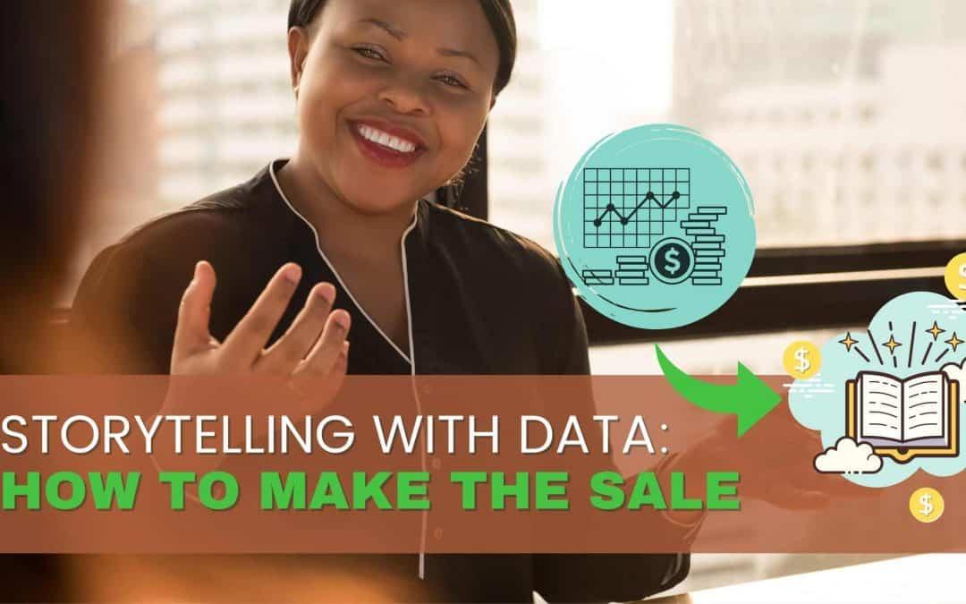 Storytelling with data header