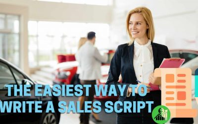 The Easiest Way to Write a Sales Script
