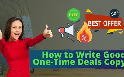 How to Write Good One-Time Deals Copy